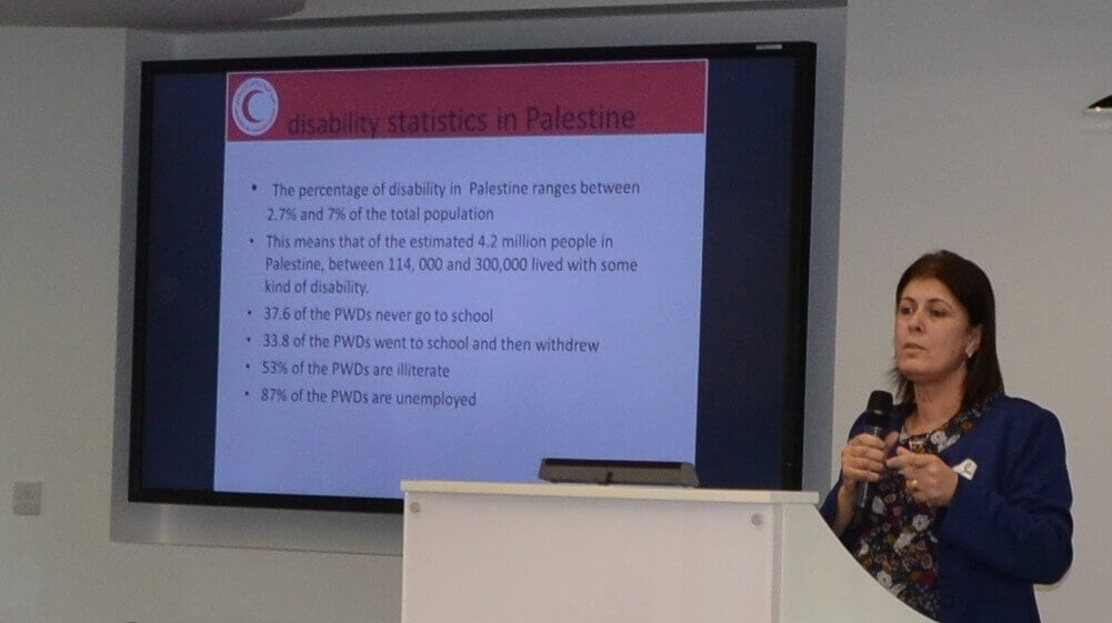 Suheir Albadarneh of the Palestinian Red Crescent reports on the challenges facing D/deaf children in the Occupied Palestinian Territories.