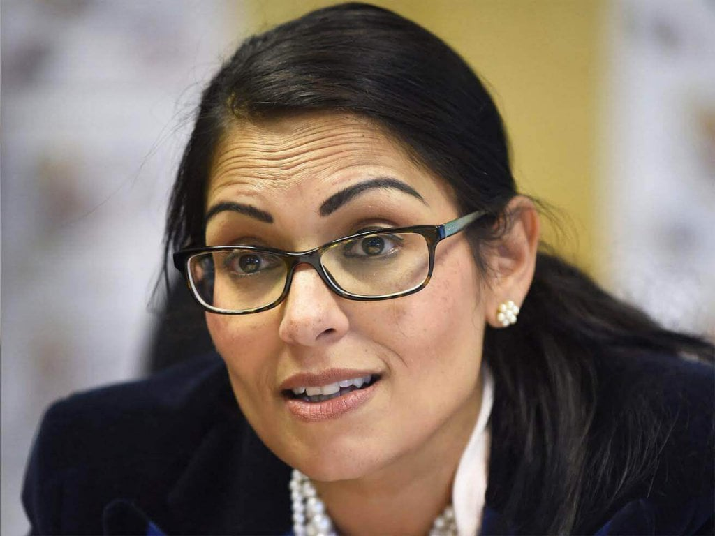 Photograph of Priti Patel