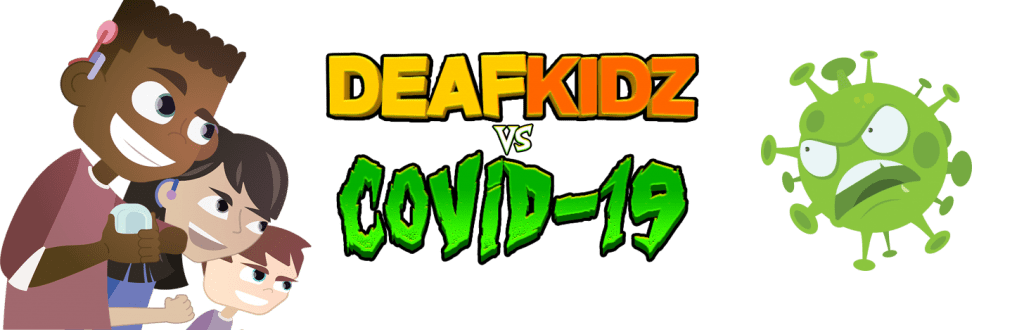 DeafKidz vs COVID-19 Games logo