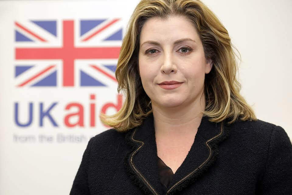 Photograph of Penny Mordaunt