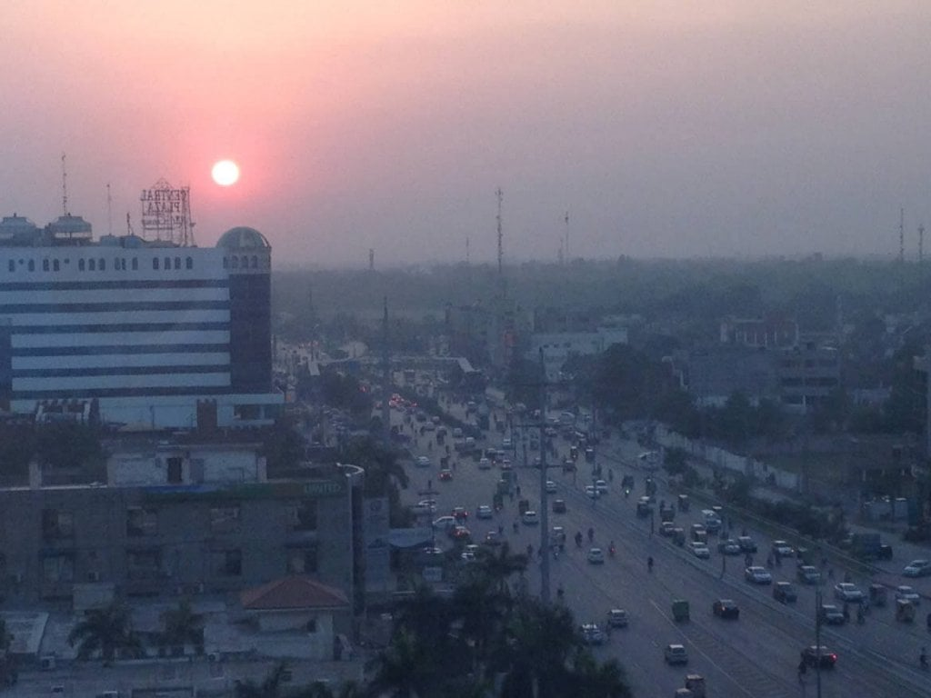 Photograph of a Pakistan skyline